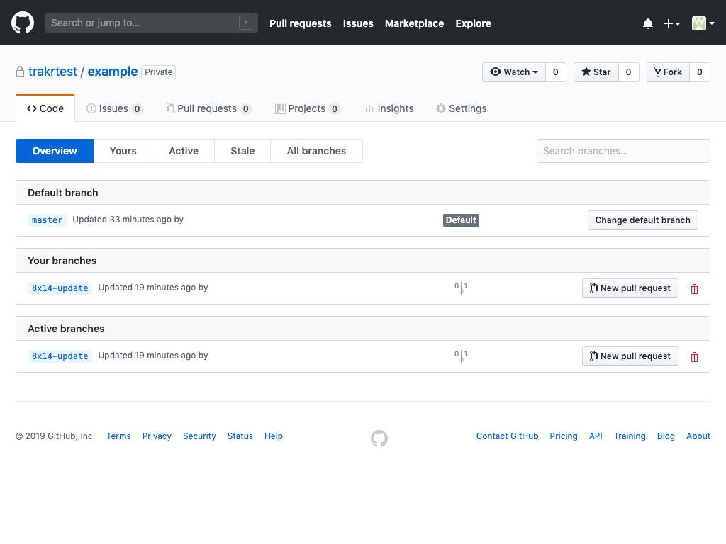 GitHub step 1