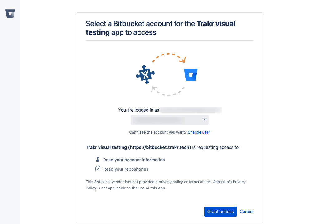 Bitbucket install step 2
